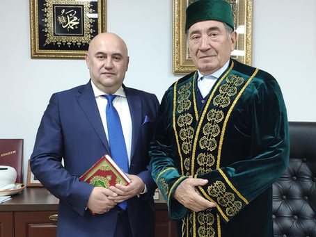 Визит советника посла РФ в мечеть