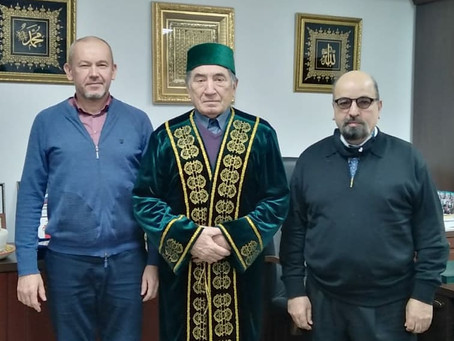 Встреча с председателем афганской диаспоры