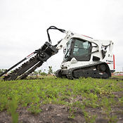 T770 Compact Track Loader with Trencher.