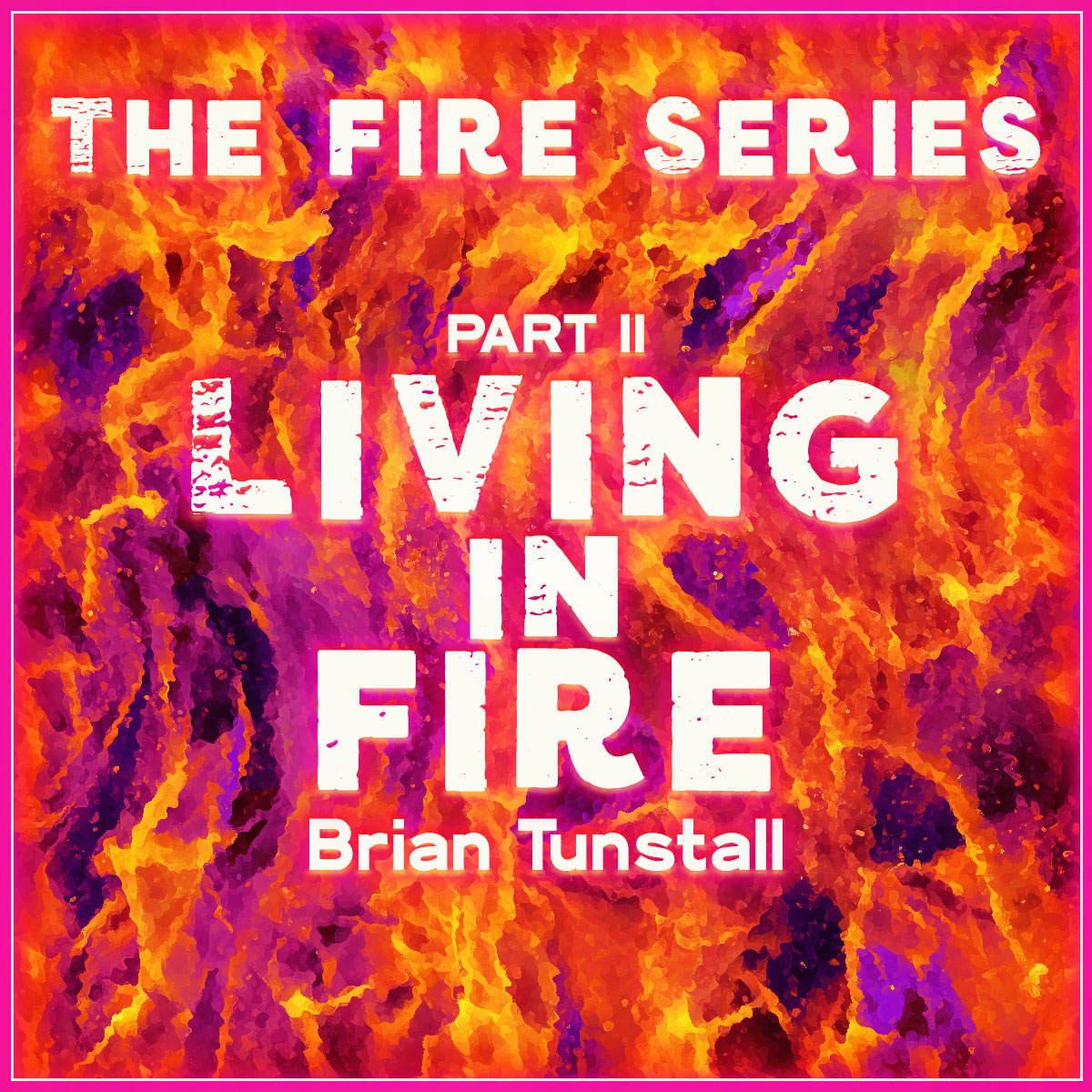 The Fire Series2_Living In Fire_Cover Art