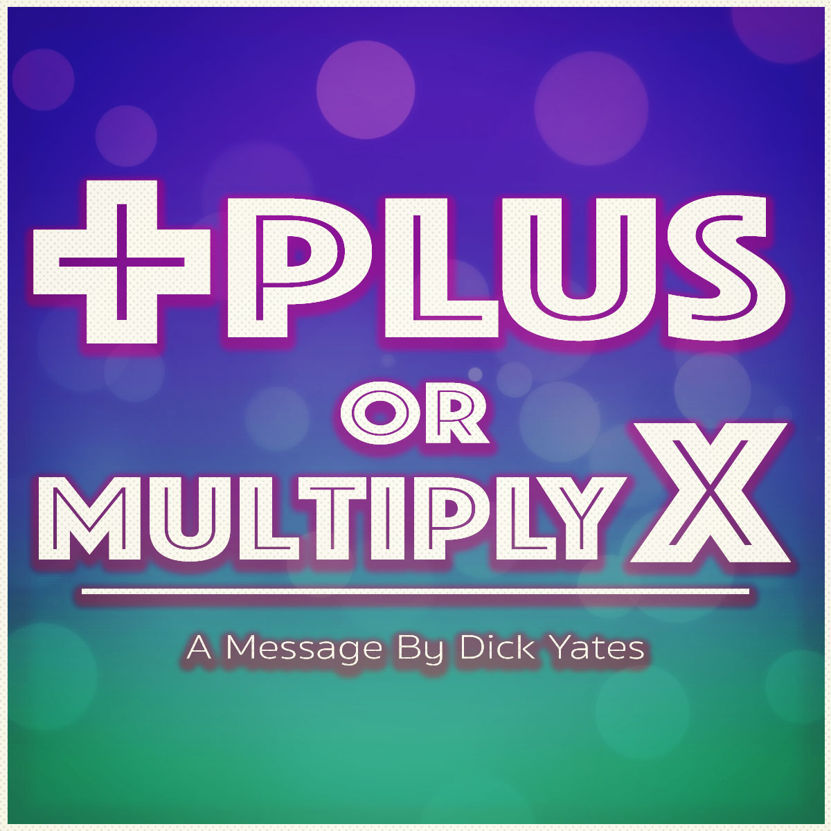 Plus or Multiply Cover art