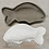 Thumbnail: Moule poisson moyen N°3