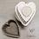 Thumbnail: Moule coeur moyen N°3 rouge.