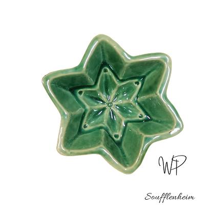 Mini moule étoile vert menthe