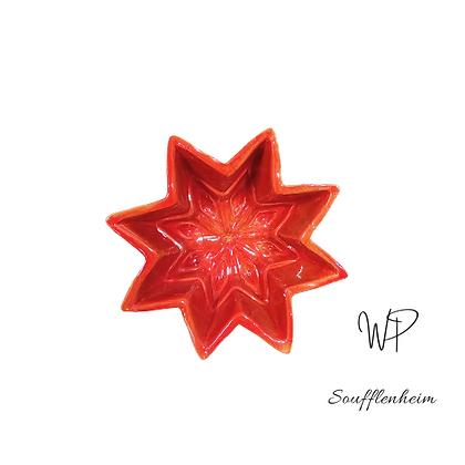 Petit Moule étoile N°1 rouge