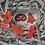 Thumbnail: Mini sapin rouge à pois crème.