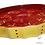 """Thumbnail: Moule à tarte rouge à coeurs """"kelsch"""" ."""