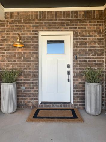 Vintage Garden Front Door