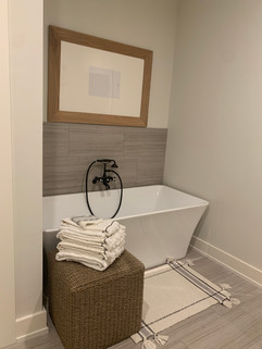 Garden Home Owner's bathtub