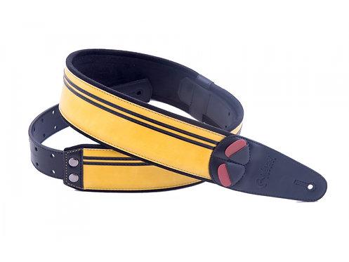 "Righton Mojo ""Race"" Guitar Strap - Yellow"
