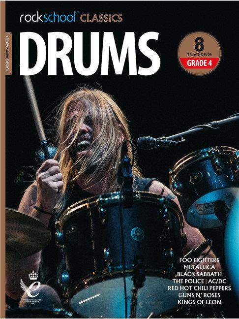 """Rockschool """"Classics"""" Drums Grade - 4"""