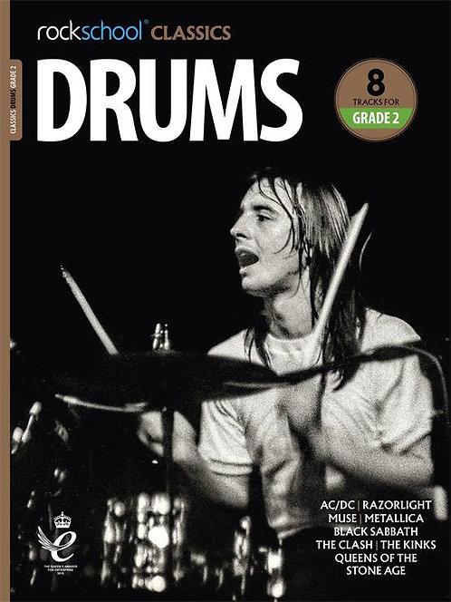 """Rockschool """"Classics"""" Drums Grade - 2"""