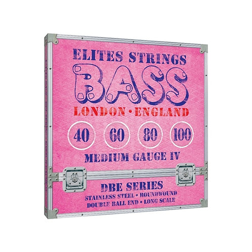 Elites DBE Series: Medium Gauge 4 String Set (40-100)