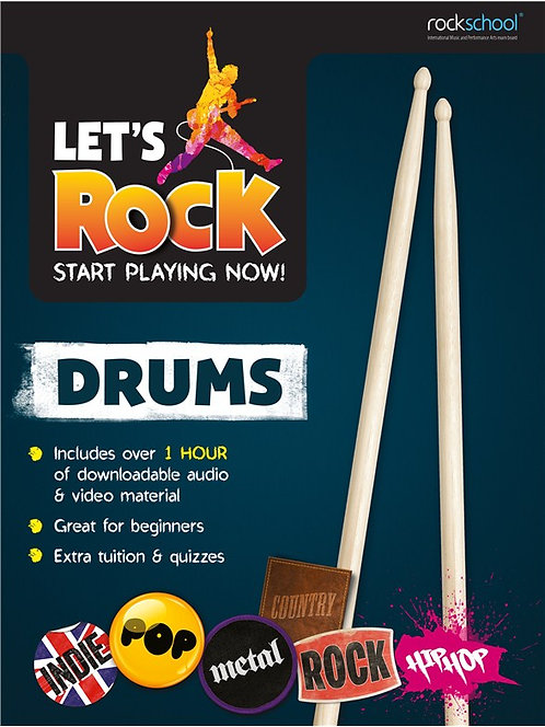 Lets Rock - The Ultimate Beginners Drum Book!