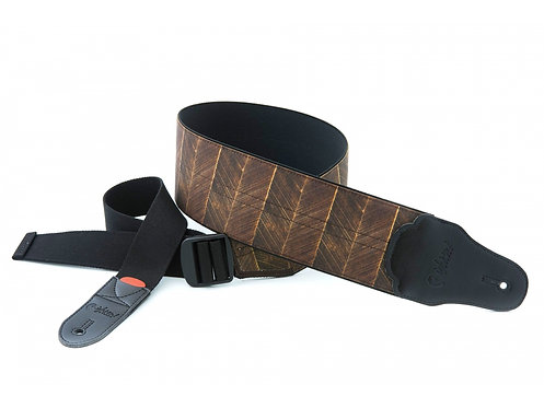 "Righton Bassman ""Elastic Trunk"" Guitar Strap - Brown"