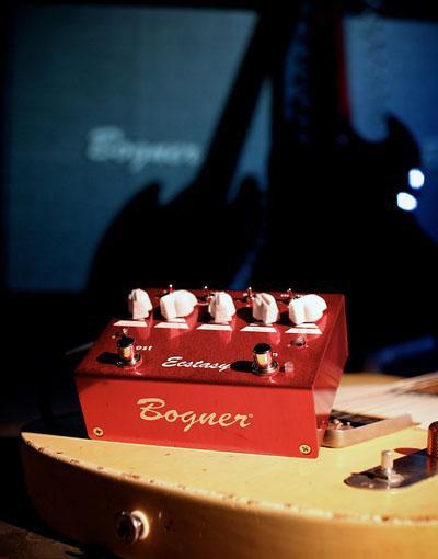 Bognor Guitar Pedals - Ecstasy Red