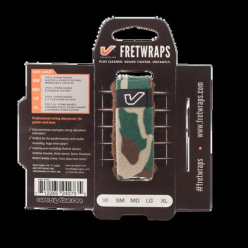 Gruvgear Fretwraps 1 String Wrap - Camouflage