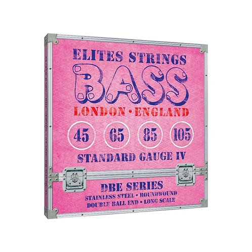 Elites DBE Series: Standard Gauge 4 String Set (45-105)