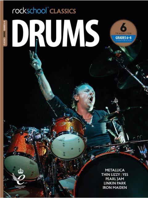 """Rockschool """"Classics"""" Drum Grade - 6/8"""