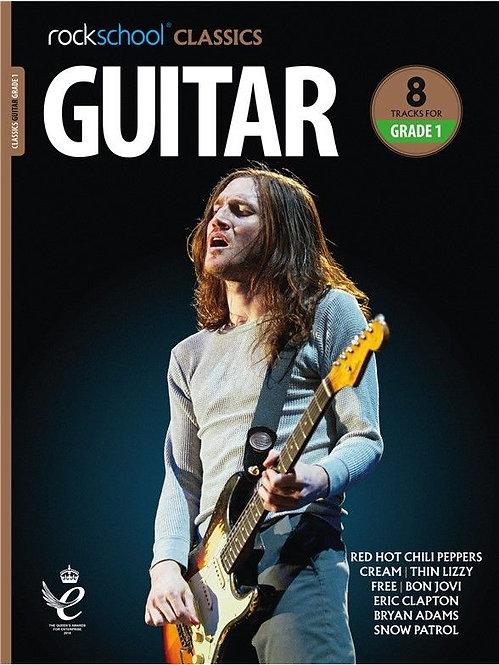 """Rockschool """"Classics"""" Guitar Grade - 1"""