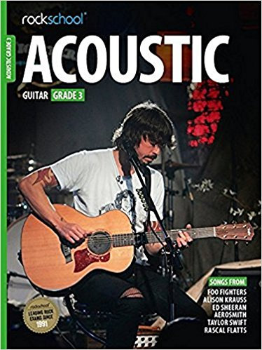 Rockschool Acoustic Guitar Grade - 3