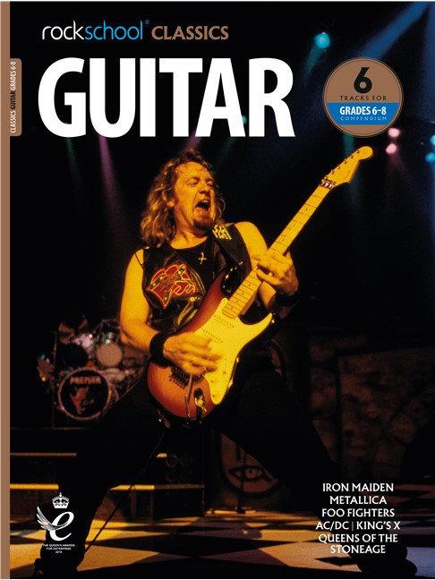 """Rockschool """"Classics"""" Guitar Grade - 6/8 Compendium"""