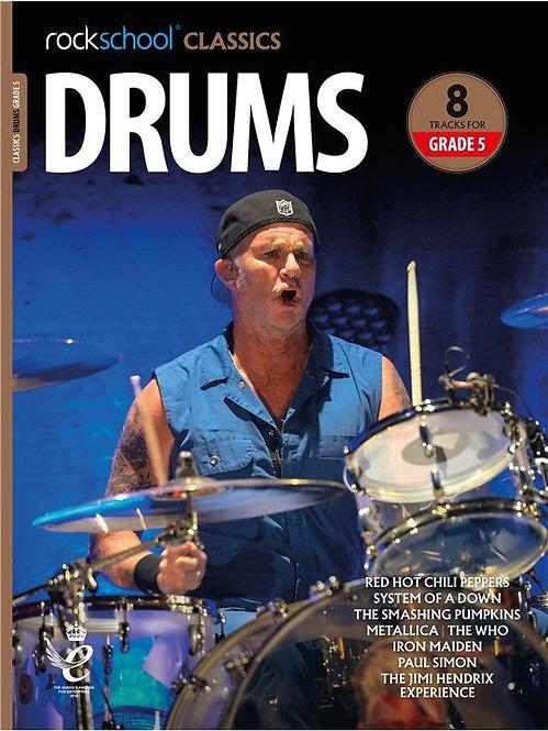 """Rockschool """"Classics"""" Drums Grade - 5"""