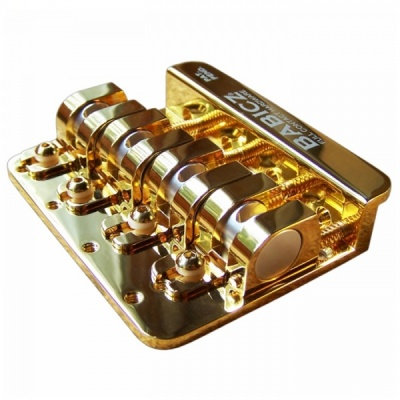Babicz FCH Bass Guitar Bridge 4 String - Gold