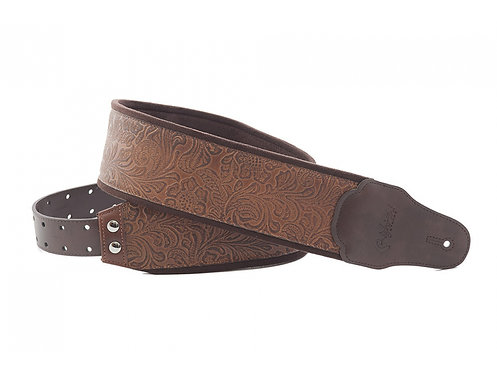 "Righton Bassman ""Sandokan"" Guitar Strap - Brown"