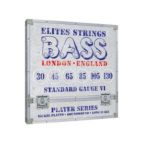Elites Player Series: Standard Gauge 6 String Set (30-130)