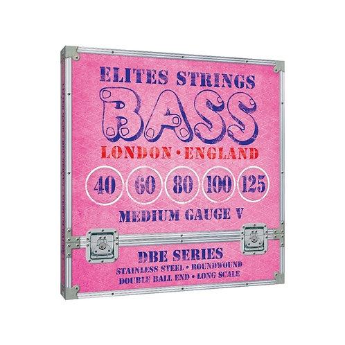 Elites DBE Series: Medium Gauge 5 String Set (40-125)