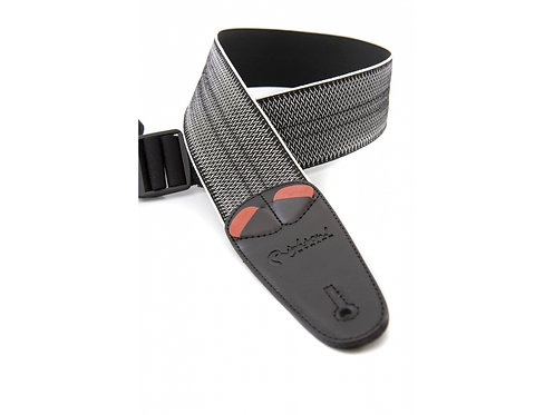 "Righton Mojo ""Elastic Spring"" Guitar Strap - Black"