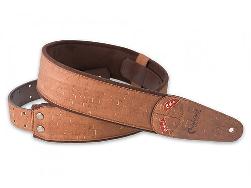 "Righton Mojo ""Cork"" Guitar Strap - Brown"