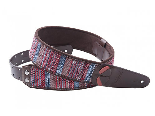 "Righton Mojo ""Maracaibo"" Guitar Strap - Red"