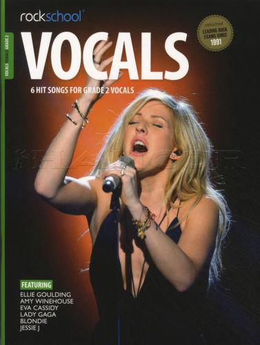 Rockschool Vocals Female Grade -2
