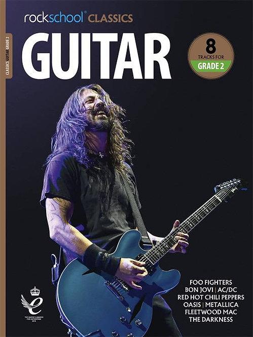 """Rockschool """"Classics"""" Guitar Grade - 2"""