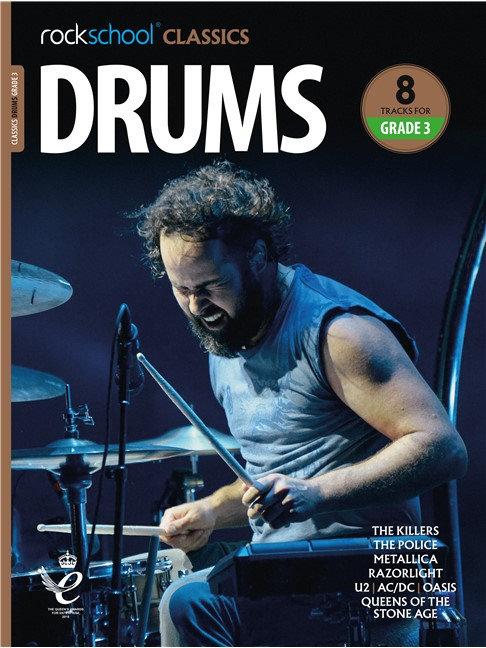 """Rockschool """"Classics"""" Drums Grade - 3"""