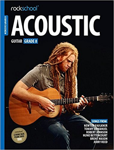 Rockschool Acoustic Guitar Grade - 8