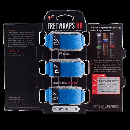 Gruvgear Fretwraps 3 String Muters - Sky