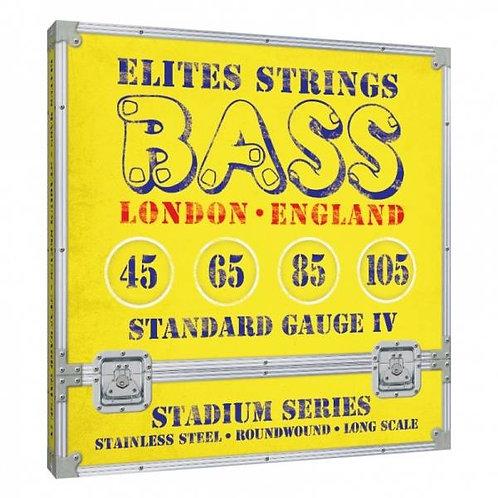 Elites Stadium Series: Standard Gauge 4 String Set (45-105)