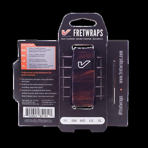 Gruvgear Fretwraps 1 String Wrap - Walnut