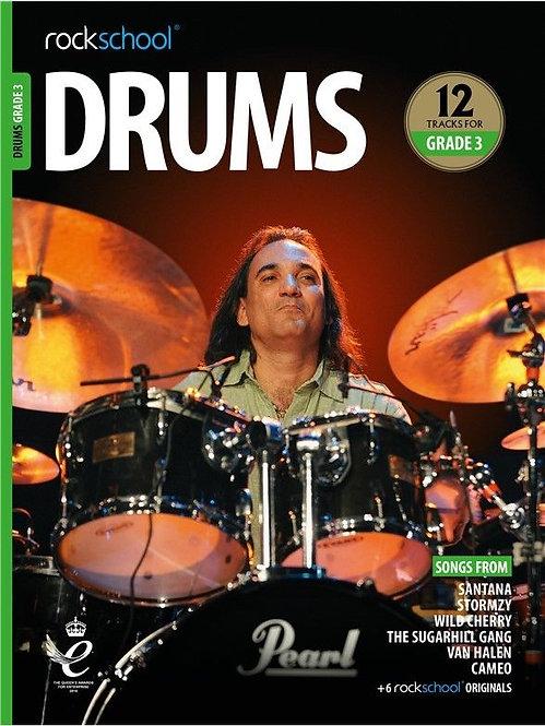 Rockschool Drums Grade - 3