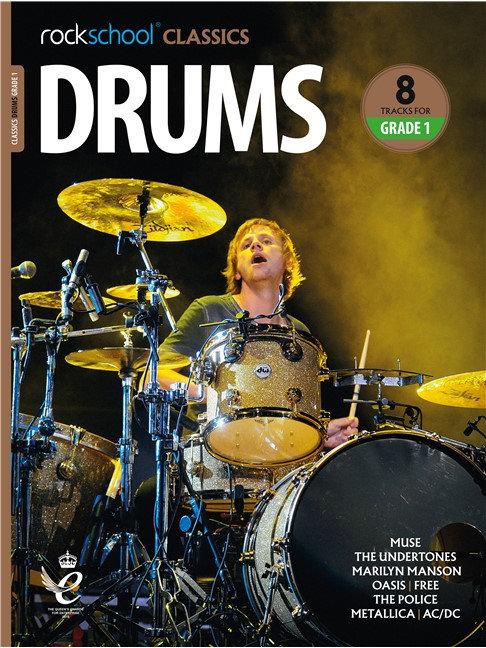 """Rockschool """"Classics"""" Drums Grade - 1"""