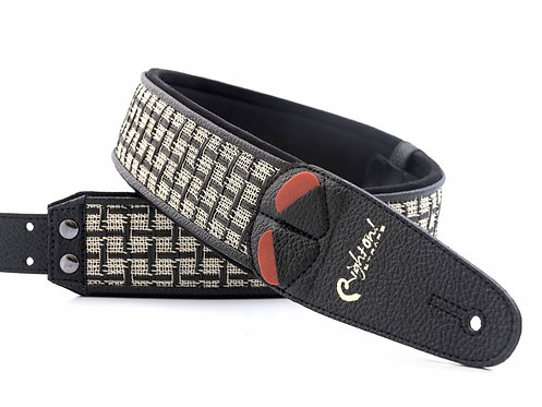 "Righton Mojo ""Amps"" Guitar Strap - Checker"