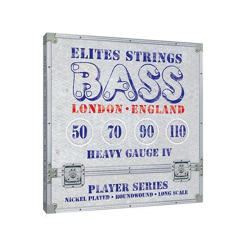 Elites Player Series: Heavy Gauge 4 String Set (50-110)