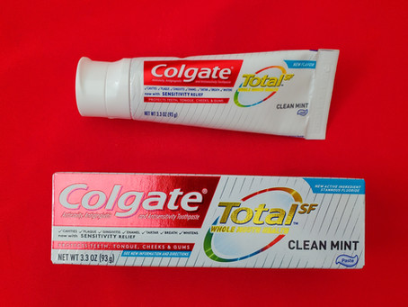 Colgate Total SF Toothpaste and Professional Code!