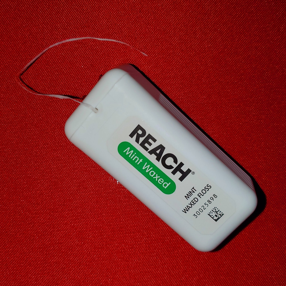 reach floss, reach mint waxed floss