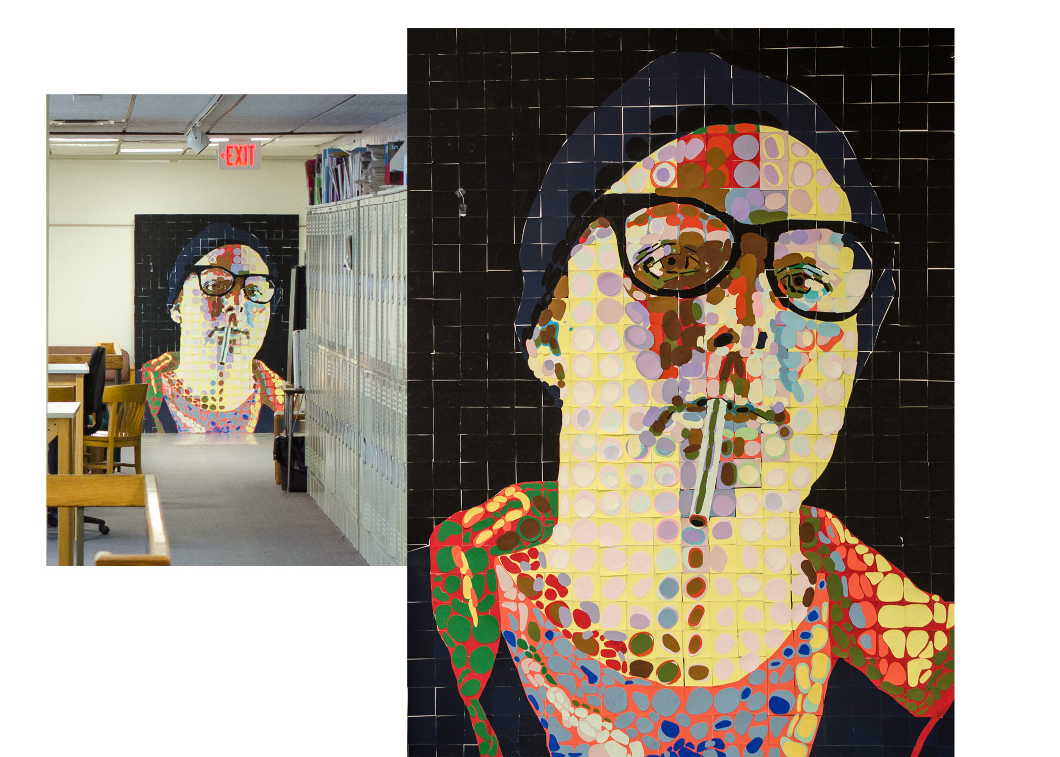 Chuck Close study