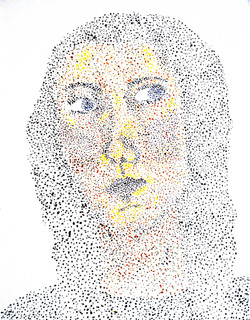 """Self portrait """"in the style of..."""""""
