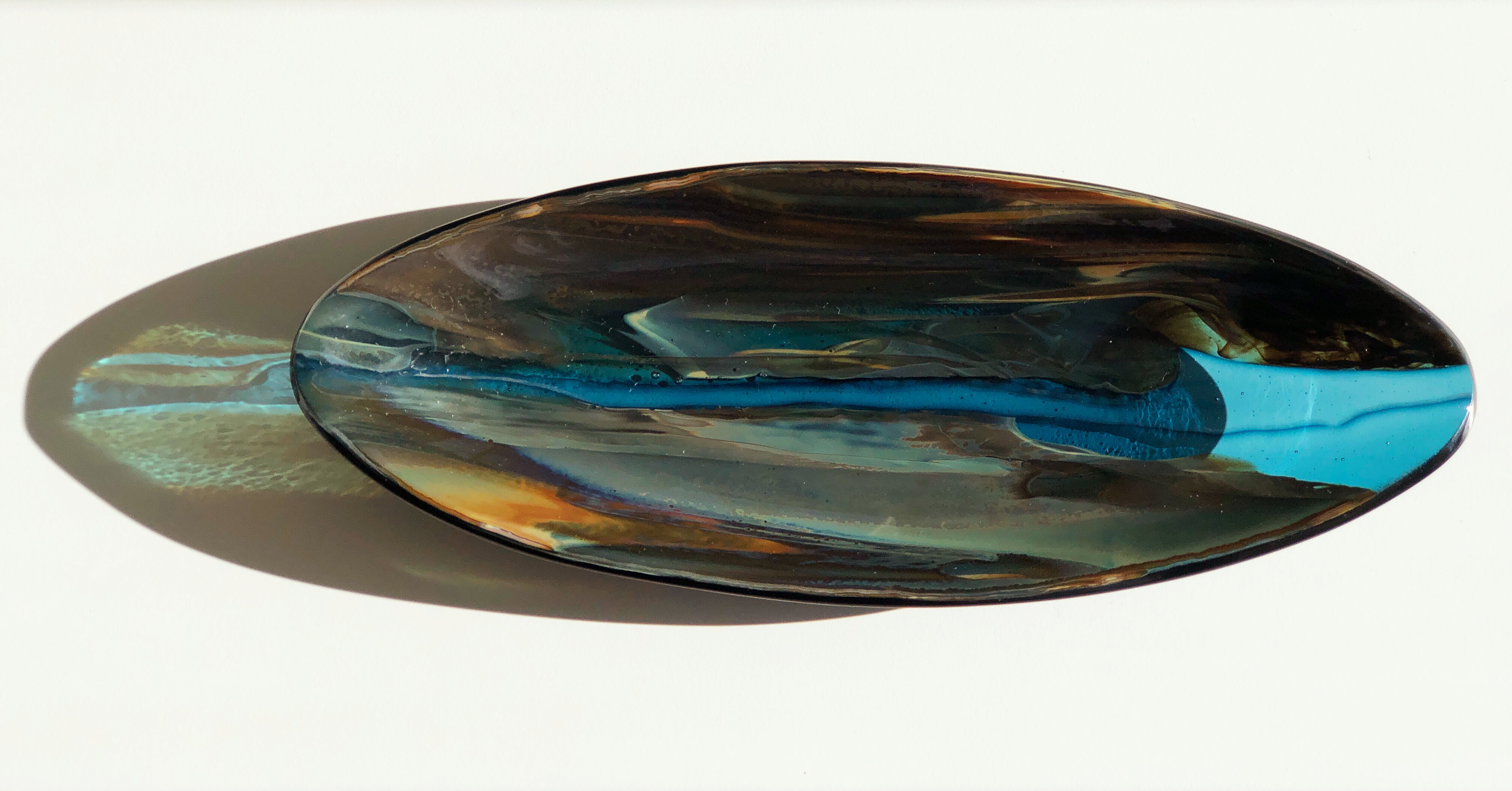 Forest Flow Oval Platter